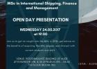 ISFM- AUEB OPEN DAY presentation 24.05.2017