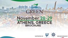 INTERNATIONAL GREEN SHIPPING AND TECHNOLOGY SUMMIT NOVEMBER 28-29