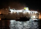 Ολονύκτιο θρίλερ πυρκαγιάς στο πλοίο Ελεθέριος Βενιζέλος